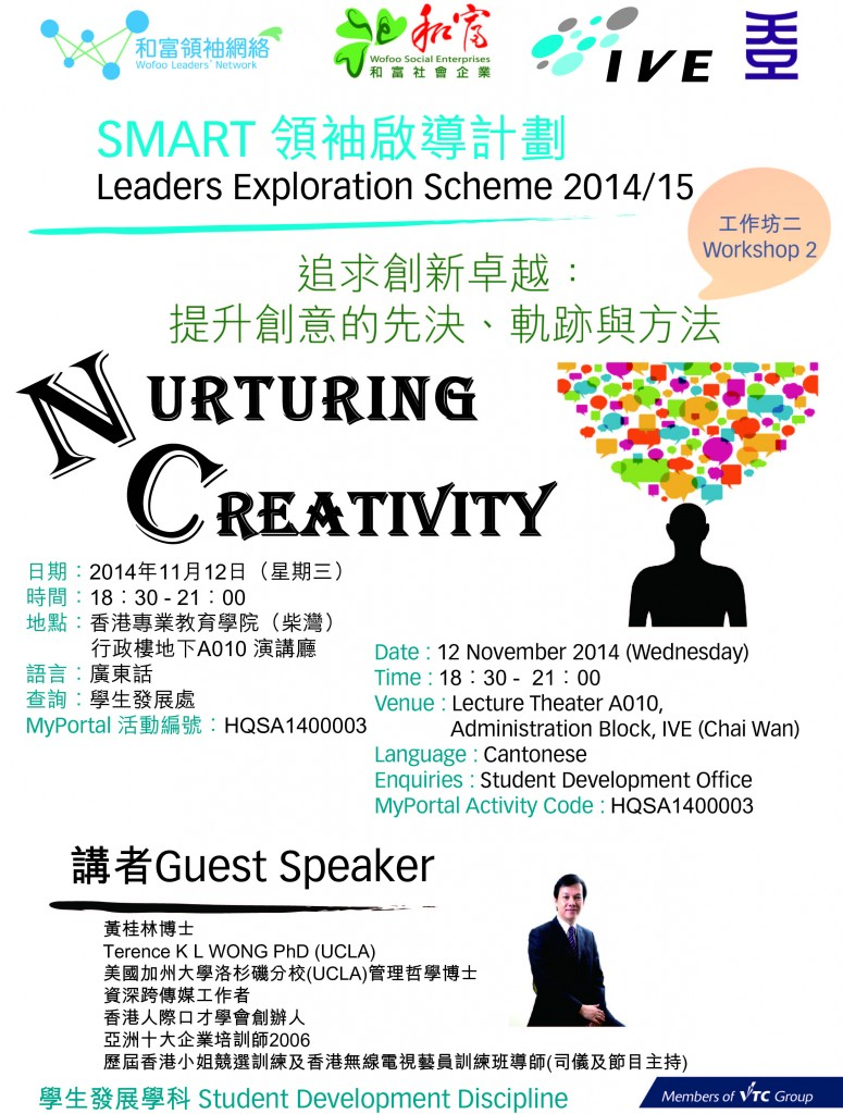 Workshop2-Nurturing Creativity