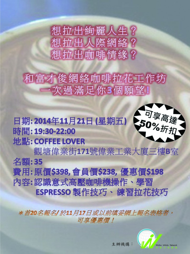 coffee workshop-poster